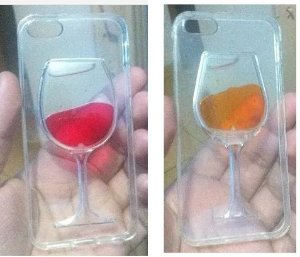 Capa Iphone 5/5s/Se Taça De Vinho