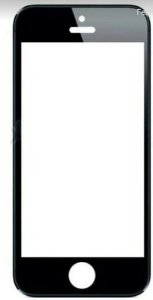 Tela Touch Iphone 5s Preto