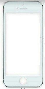 Tela Touch Iphone 5s Branco