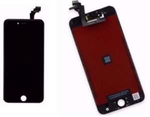 Combo Frontal Display Touch Iphone 5s Preto