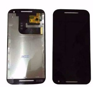 Combo Frontal Display Touch Moto G3 - Preto