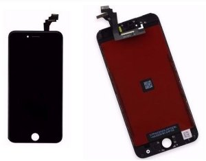 Combo Frontal Display Touch Iphone 5c Preto