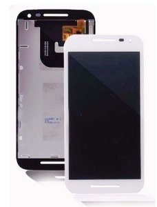 Combo Frontal Display Touch Moto G3 - Branco