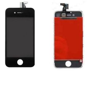 Combo Frontal Display Touch Iphone 4s Preto