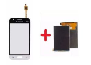 Combo Frontal Display Touch Galaxy J1 Mini J105 Branco