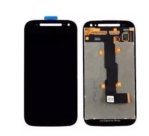 Combo Frontal Display Touch Moto E2 Preto
