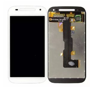 Combo Frontal Display Touch Moto E2 Branco