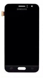 Combo Frontal Display Touch Galaxy J1 2016 J120 Preto