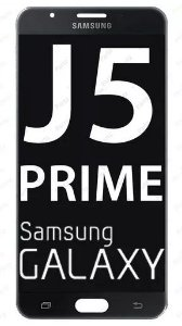 Combo Frontal Display Touch Galaxy J5 Prime G570 Preto