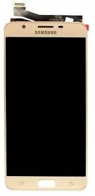 Combo Frontal Display Touch Galaxy J7 Prime G610 Dourado