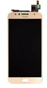Combo Frontal Display Touch Moto G5s xt1792 Dourado