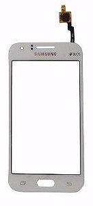 Tela Touch Galaxy Galaxy J1 J100 Branco