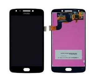 Combo Frontal Display Touch Moto E4 XT1763 Preto