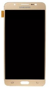 Combo Frontal Display Touch Galaxy J7 2016 J7 Metal J710 Dourado