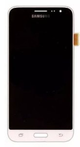Combo Frontal Display Touch Galaxy J3 J320 Branco