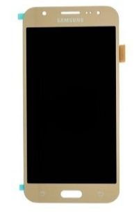 Combo Frontal Display Touch Galaxy J5 2016 J5 Metal J510 Dourado