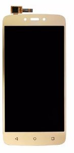Combo Frontal Display Touch Moto C Xt1750 Xt1754 Xt1756 Dourado