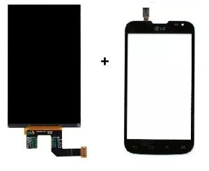 Combo Frontal Display Touch Lg L70 D325 Preto