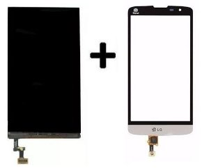Combo Frontal Display Touch Lg L Prime D337 Branco