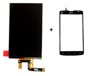 Combo Frontal Display Touch Lg L80 D380 D385 d380 d385 Preto