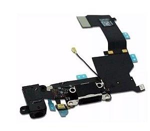 Conector de Carga Iphone 5g Preto