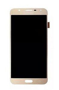 Combo Frontal Display Touch Galaxy J7 Neo J701 Dourado