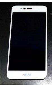 Combo Frontal Display Touch Zenfone 3 maxx zc520tl 5.2 Branco