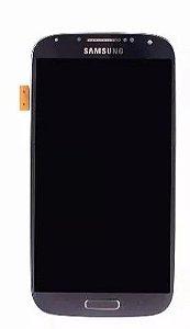 Combo Frontal Display Touch Galaxy S4 i9500 i9505 i9515 Preto