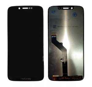 Combo Frontal Display Touch Moto G7 Play xt1952 Preta