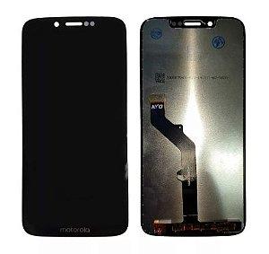 Combo Frontal Display Touch Moto G7 Play xt1952 Preta