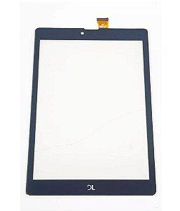 Tela Touch Vidro Tablet Dl tx385 tx389 lt 648 Preto