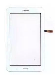 Tela Touch Vidro Galaxy Tab 3 Lite T110 T111 T113 T116 Branco