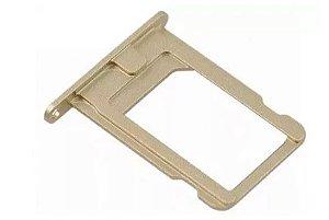 Bandeja Chip Gaveta Sim Card Iphone 5s Dourado