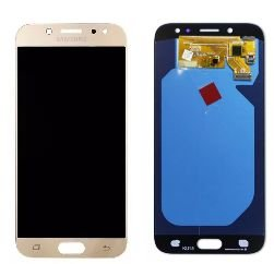 Combo Frontal Display Touch Galaxy J7 Pro J730 Dourado Amoled
