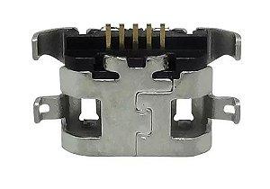 Conector de Carga Moto G5 sem placa