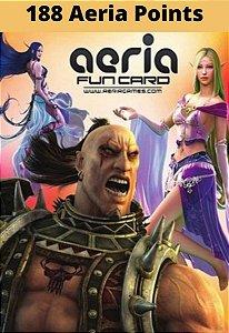 Cartão Presente Aeria Games - 188 Aeria Points