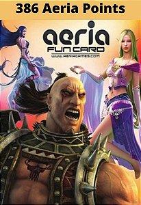 Cartão Presente Aeria Games - 386 Aeria Points