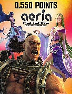 Cartão Presente Aeria Games - 8550 Aeria Points
