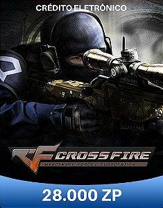 CrossFire ZP - Cartão de 28.000 ZP Cash