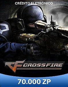 CrossFire ZP - Cartão de 70.000 ZP Cash