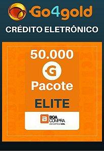 Crédito Go4Gold Boa Compra 50.000 Créditos Gold