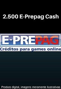 E-Prepag Card - 2500 E-Prepag Cash