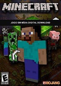 Minecraft Jogo Completo Mojang - Cartão de Ativação Original Para PC/MAC/LINUX