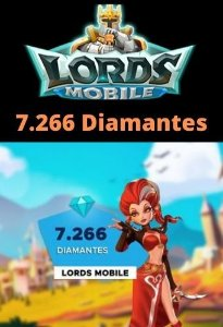 Lords Mobile 7.266 Diamantes - Android