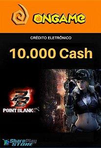 Cartão Point Blank PB 10.000 Cash - PB 10k Point Blank Ongame