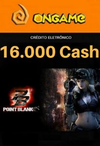 Cartão Point Blank PB 16.000 Cash - PB 16k Point Blank Ongame