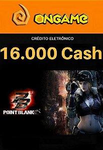 Cartão Point Blank PB 16.000 Cash - PB 16k Point Blank Ongame