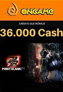 Cartão Point Blank PB 36.000 Cash - PB 36k Point Blank Ongame