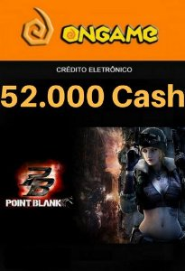 Cartão Point Blank PB 52.000 Cash - PB 52k Point Blank Ongame