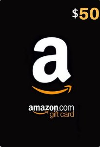 Amazon Gift Card $50 Dólares - Gift Card Amazon (US)